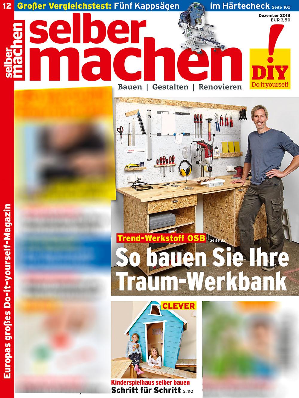 Titel Selbermachen Heft 12/2018